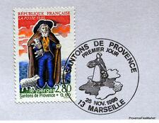 SANTONS DE PROVENCE  FRANCE Yt 2976 OBLITERATION 1er JOUR  NOTICE PHILATELIQUE