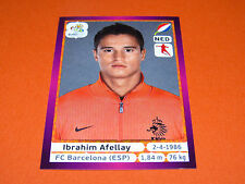 184 AFELLAY PAYS BAS HOLLAND NEDERLAND FOOTBALL PANINI UEFA EURO 2012