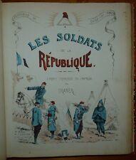 DRANER: Souvenrirs du siège de Paris - Les soldats de la République / 1872