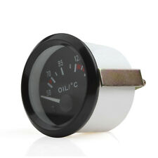 52mm 2 Inch Car Pointer Oil Temperature Temp Gauge 50-150 Celsius with LED Light