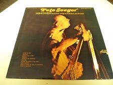 PETE SEEGER WIMOWEH AND OTHER SONGS FOLKWAYS RECORDS USA 1968 FTS 31018