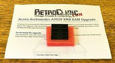 ACORN ARCHIMEDES A3020 - 4MB RAM UPGRADE KIT WITH GUIDE - M5148000 ZIP CHIPS x4