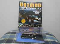 Eaglemoss Batman Automobilia -No.16 Batman & Robin Movie +Book Collectable