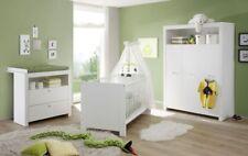Trendteam Olivia Babyzimmer Komplett Set   Weiß, 3 Teilig