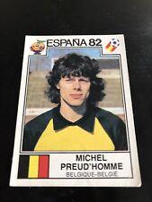 Panini Espana 82 - Preud'Homme