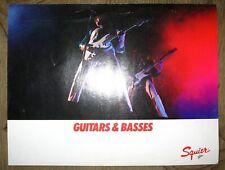 Squier by Fender Guitars & Basses brochure