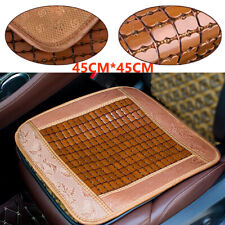 1x Bamboo Seat Cover Cool Cushion For Auto Car Truck & Office Chair Seat Cover