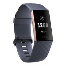 Fitbit Charge 3 rosa und blau Tracker mit Überwachung Impuls