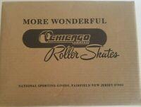 Chicago Women's Classic Roller Skates - Premium White Quad Rink Skates - Size 5