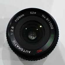 Sirius MC Automatic 1:2.8  f=28mm Macro Lens  - Olympus mount