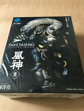 Kaiyodo Fujin God Of The Wind Blue Color Painted Revoltech Figure Japan F/S New
