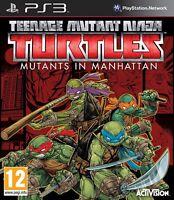PS3 Game Teenage Mutant Ninja Turtles: Mutants in Manhattan New
