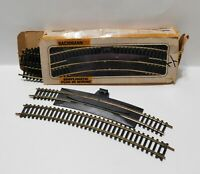 Vintage BACHMANN HO SCALE SIMPLIMATIC PLUG IN WIRING CURVED TRACK 13 Pieces
