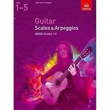 ABRSM Guitar Scales & Arpeggios, Grades 1-5 - Same Day P+P