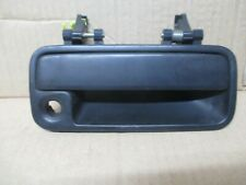 ROVER 25 200 MG ZR FRONT RIGHT UK DRIVERS EXTERNAL DOOR HANDLE WITH KEY HOLE