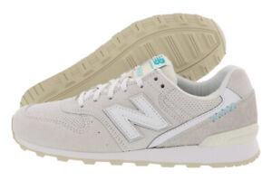 New Balance 696 Classics Womens Shoes Size 8, Color: Tan/White