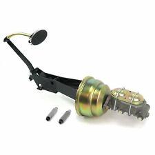 49-54 Chevy Car 7 Dual Brake Pedal kit Drum/DrumLg Oval Chr Pad