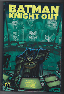 BATMAN: KNIGHT OUT hardcover. signed by Chuck Dixon
