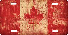 Personalized Custom License Plate Auto Car Tag Canada Flag