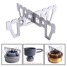 Picnic Alcohol Stove Stand Rack Spirit Burner Base Bracket Titanium Rack