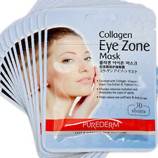 New PUREDERM Collagen EYE zone mask 390 sheets (13pack x 30sheets) Zipper Bag