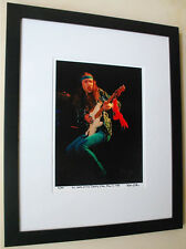 Uli Jon Roth/Scorpions live 1985 fine art photo in 16x20 framed  signed #4/100