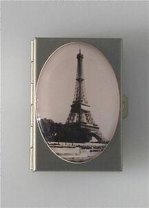 EIFFEL TOWER Paris Photograph pill box by Laura Graham