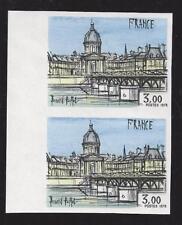 Paire  non dentelé Tableau de Bernard Buffet 3,00 Francs