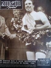 CYCLISME COPENHAGUE HARRIS CHAMPION DU MONDE VITESSE N° 169 MIROIR SPRINT 1949