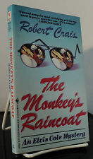 The Monkey's Raincoat by Robert Crais - inscribed to fellow author Les Roberts