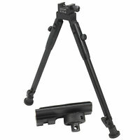 "CCOP USA 15"" Picatinny Rail Mount Adjustable Notch Legs Tactical Bipod BP-59AL"