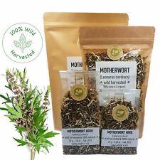 Organic MOTHERWORT HERB Dried Leonurus Cardiac Wild Harvested Herbal Tea Premium