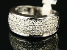 14k White Gold Diamond Unisex Wedding & Anniversary Bands