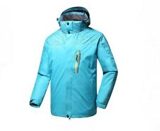 Hooded Waterproof Lightweight Hiking Climbing Rain coat Outdoor Sports Jacket M
