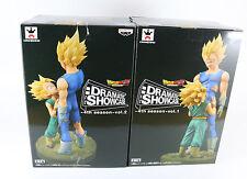 Dragon Ball Z Dramatic Showcase 4th Season Vol 1 SS Vegeta & Vol 2 Trunks set