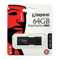 Kingston 64gb DataTraveler 100 G3 USB 3.0 Flash Drive