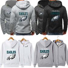 Philadelphia Eagles Hoodie Football Hooded Sweatshirt Fleece Jacket Gift for Fan