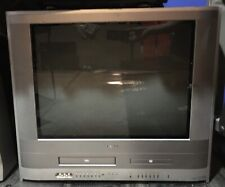Toshiba 24 Inch Tv Dvd Vcr Combo Model Mw24Fp1 Tested Retro Gaming
