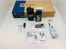 Globe Roamer Motorola DP4801E UHF 403-527MHz + GPS MotoTRBO Radio MDH56RDN9RA1AN