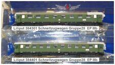 Liliput 0384301-401Schnellzugwagenset GR 28 EP III 1.87 unbenutzt / neuwertig