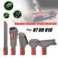 Vacuum Cleaner Brush Head Set for For Dyson V7 V8 V10 Storage Rack Cleaning Tool