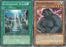Yugioh Water Budget Deck - Mother Grizzly - A Legendary Ocean - NM - 40 Cards