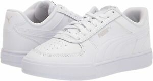 Men's Shoes PUMA CAVEN Casual Lace Up Sneakers 38081001 WHITE / GRAY VIOLET