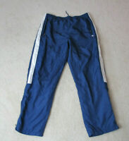VINTAGE Champion Windbreaker Pants Adult Extra Large Blue White Warm Up 90s