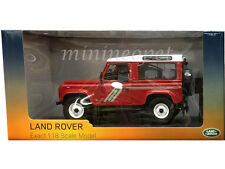 UNIVERSAL HOBBIES 3880 LAND ROVER DEFENDER 90 COUNTRY WAGON TDI 1/18 RED