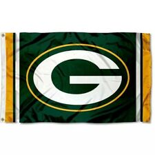 Green Bay Packers 3x5 FT Flag Banner NFL Football Stripes For Man Woman Cave Bar