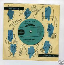 45 RPM SP EDITH PIAF LES FLONS FLONS DU BAL (33 RPM)