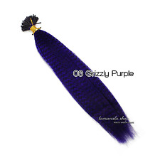 "10 Color Choose 16"" Grizzly Synthetic Feathers Hair Extensions 5/10/20PCS Choose"