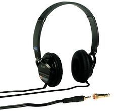 Sony Mdr-7502 Lightweight Professional Headphone - Stereo - Black - Mini-phone -