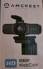 Webcam PC Camera USB Built-in Dual Mic Desktop Laptop Live Streaming HD